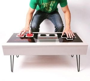 Nintendo Game Controller Coffee Table