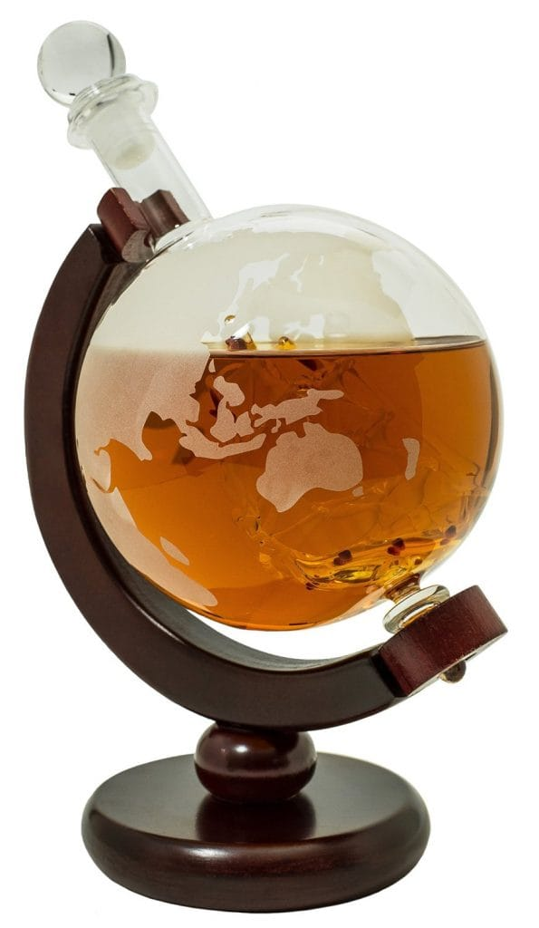 Globe Scotch Decanter