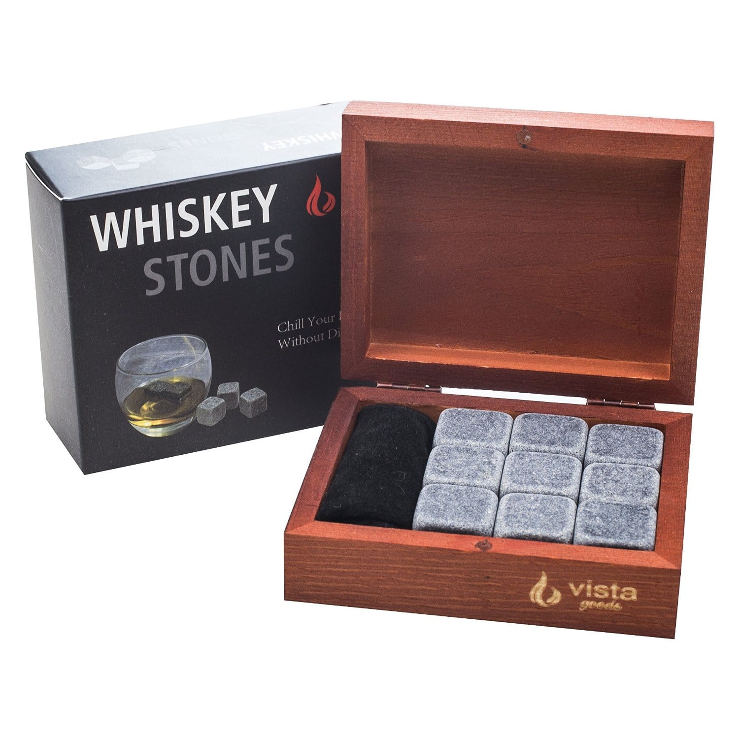 Vista Whiskey Rocks Set