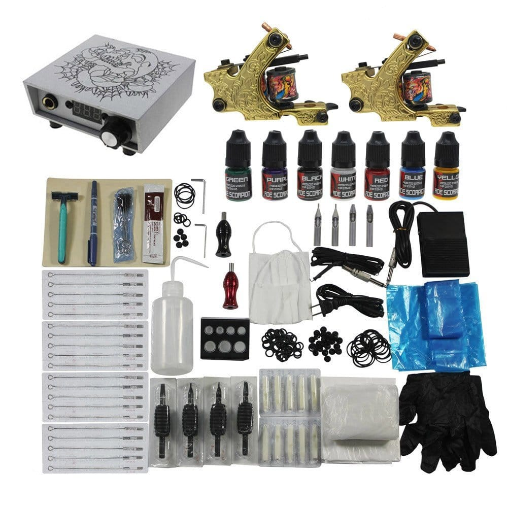 Best Beginner Tattoo Kits - A Complete Buyer's Guide And Reviews