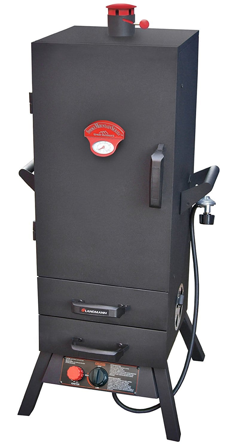 Landmann 2 Drawer Vertical Gas Smoker