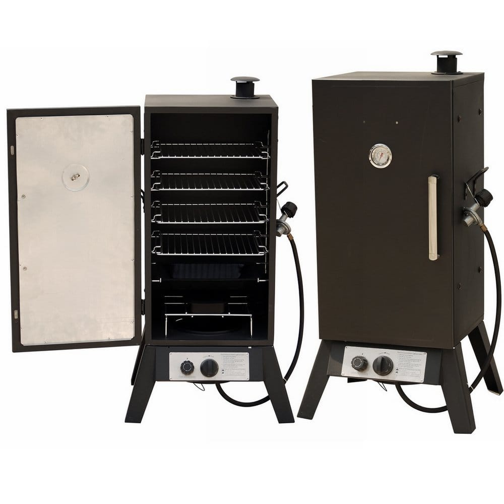 Palm Springs Vertical LP Gas Smoker