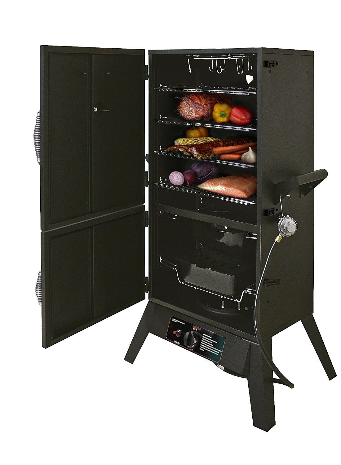 best vertical propane smoker