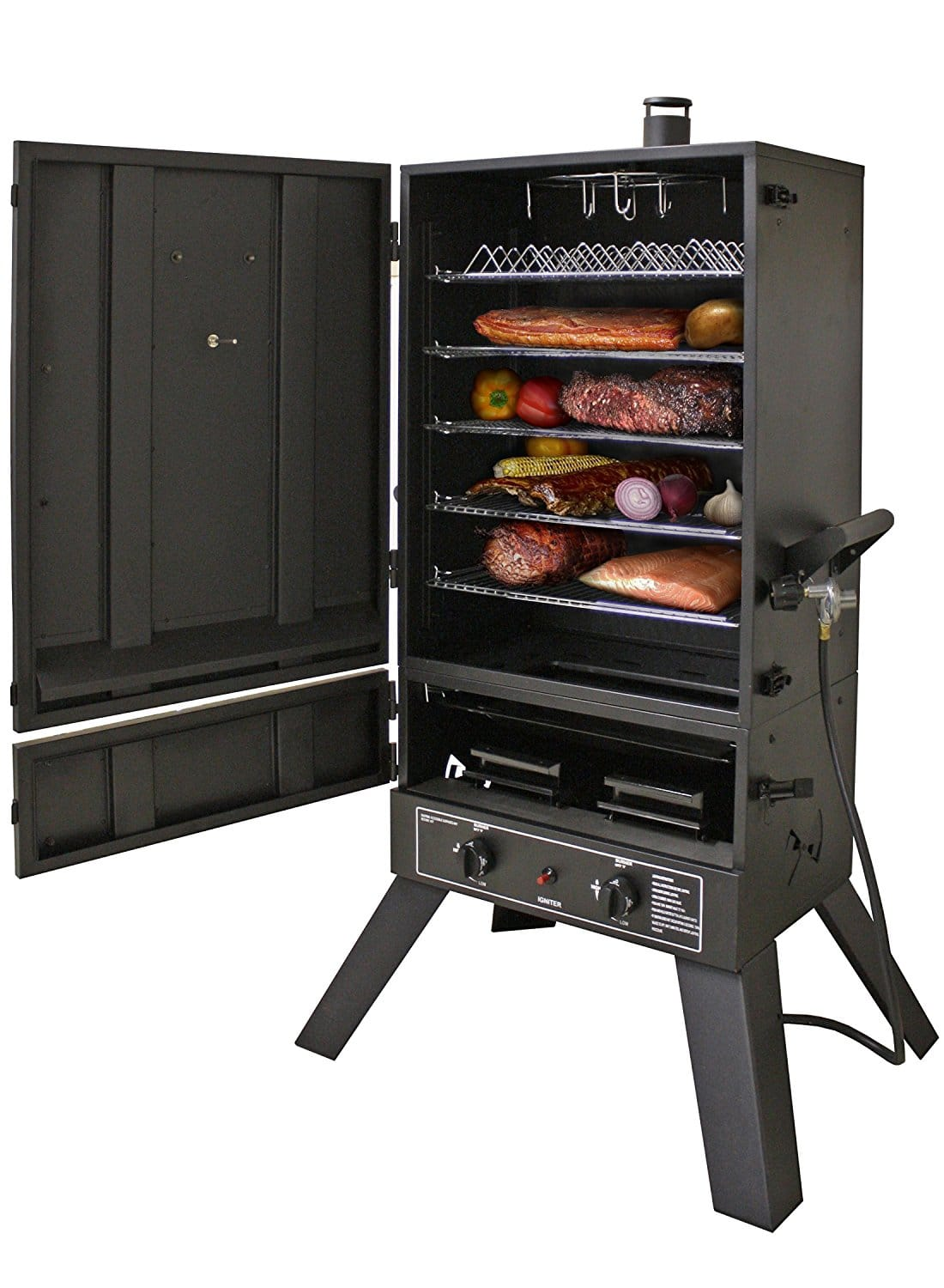 best vertical gas smoker
