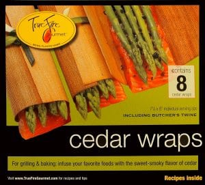 Cedar Paper Wraps For Salmon Smoking