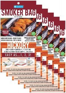 Hickory Smoker Bag Indoor Meat Smoking